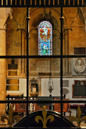 """What immortal hand or eye could frame thy fearful symmetry?"" - (William Blake) - Christ Church Oxford"