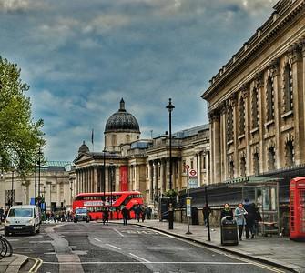 """Artful View"" - Trafalgar - London"