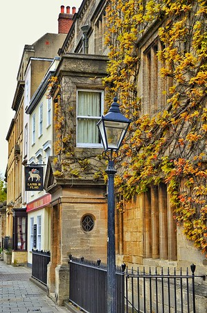"""Time For a Pint"" - Lamb & Flag - Oxford"