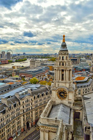 """Wren's Vista"" - St. Paul's - London"