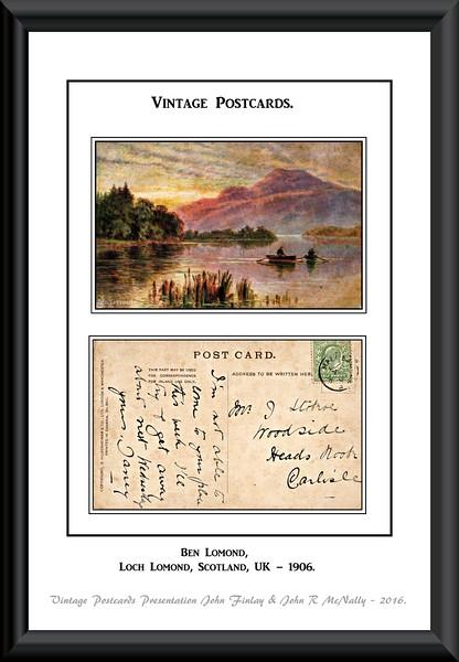Vintage Postcards.