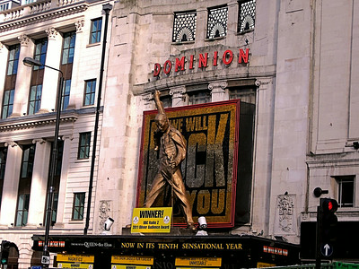 We Will Rock You, Dominion Theatre, Tottenham Court Road, London, UK - 2011.