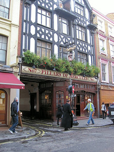 Pillars Of Hercules Pub, Greek Street, Soho, London, UK - 2011.
