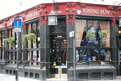 Rising Sun, Tottenham Court Road, London, UK - 2011.