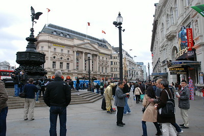 Eros, Piccadilly Circus, London, UK - 2011.