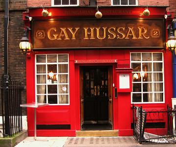 The Gay Hussar, Greek Street, Soho , London, UK - 2012.