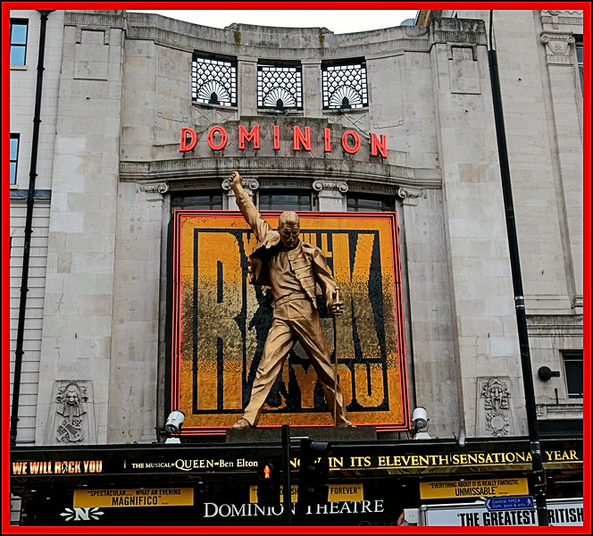 The Dominion Theatre, Tottenham Court Road, London, UK - 2012.