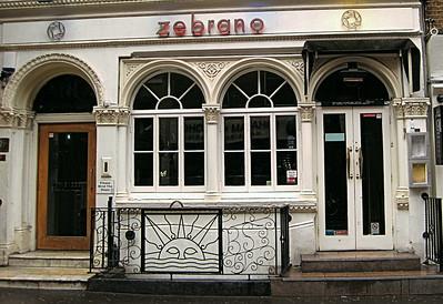 Zebrano, Greek Street, Soho, London, UK - 2012.