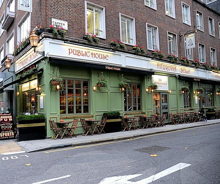 Fitzrovia Belle, Tottenham Court Road, London, UK - 2012.
