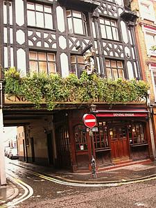 Pillars Of Hercules Pub, Greek Street, Soho, London, UK - 2012.