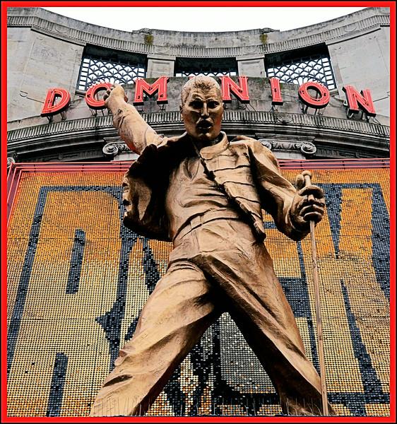 The Dominion Theatre, Tottenham Court Road, London, UK - 2012.