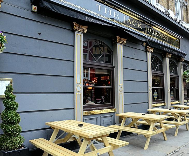 Jack Horner Pub, Tottenham Court Road, London, UK - 2012.