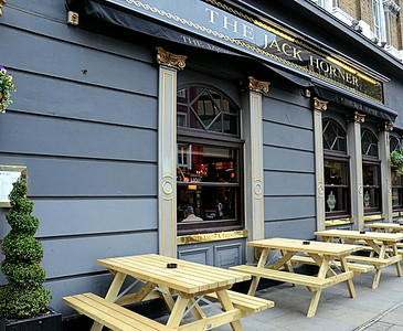 Jack Horner Pub, Tottenham Court Road, London, UK - 2012.