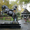Soho Square Gardens, London, UK - 2012.