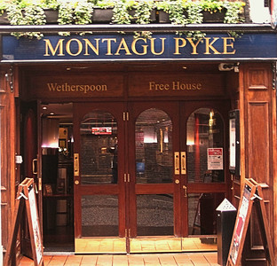 Montagu Pyke, Greek Street, Soho , London, UK - 2012.