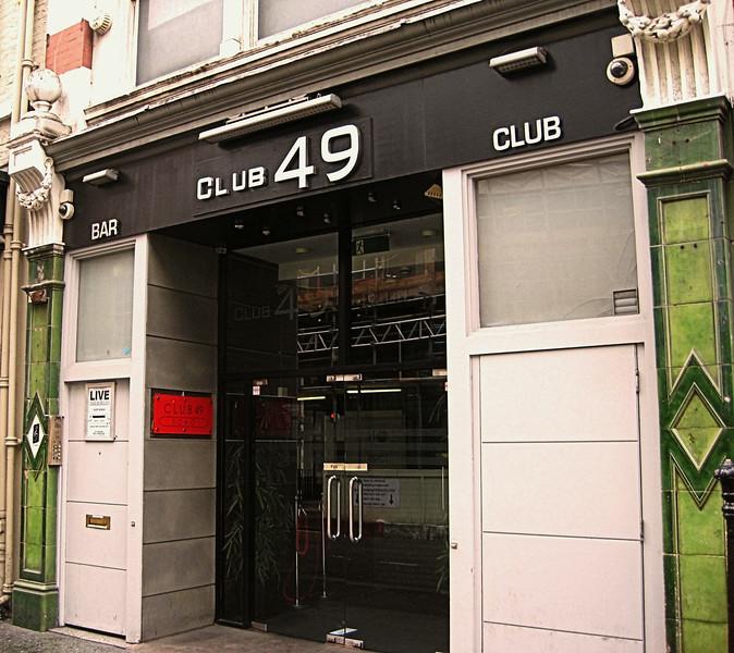 Club 49, Greek Street, Soho, London, UK - 2012.
