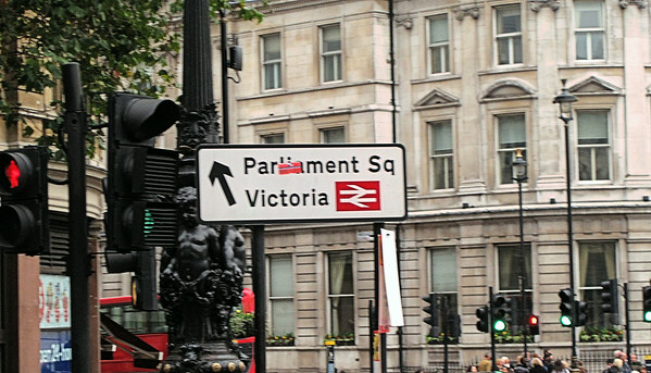 Parliament Square, City Of Westminster, London, UK - 2012.
