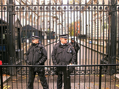 Downing Street, City Of Westminster, London, UK - 2012.