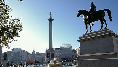 Trafalgar Square, London, UK - 2012.