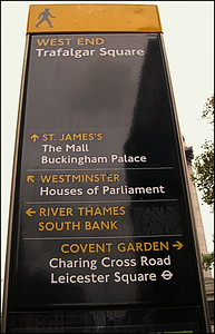 Trafalgar Square, London, UK - 2012.