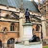 Oliver Cromwell Statue, London, UK - 2012