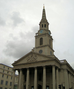 St Martin-In-The-Fields, Trafalgar Square, London, UK - 2012.