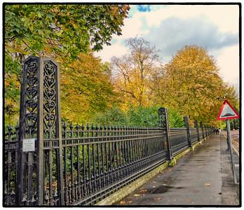 Park Square East, London, UK - 2013.