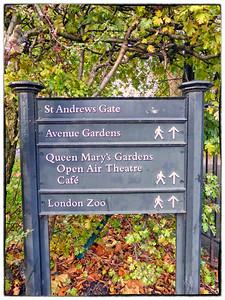 Regents Park, London, UK - 2013.