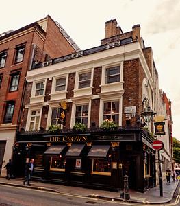 The Crown, Brewer Street,  London, United Kingdom - 2014.