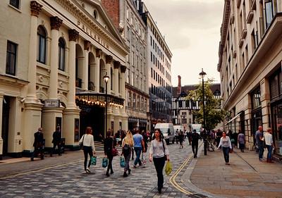 Argyle Street, London, United Kingdom - 2014.