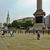 Trafalgar Square, London, United Kingdom - 2014.