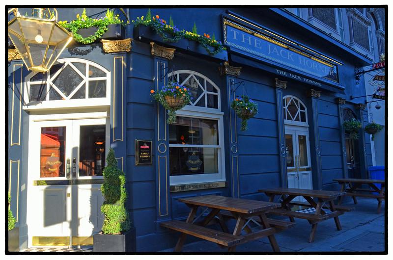 The Jack Horner Pub, Tottenham Court Rd, London, UK - 2013.