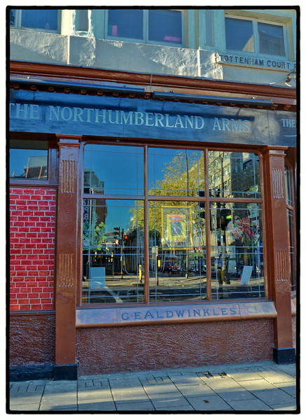 The Northumberland Arms, Tottenham Court Rd, London, UK - 2013.
