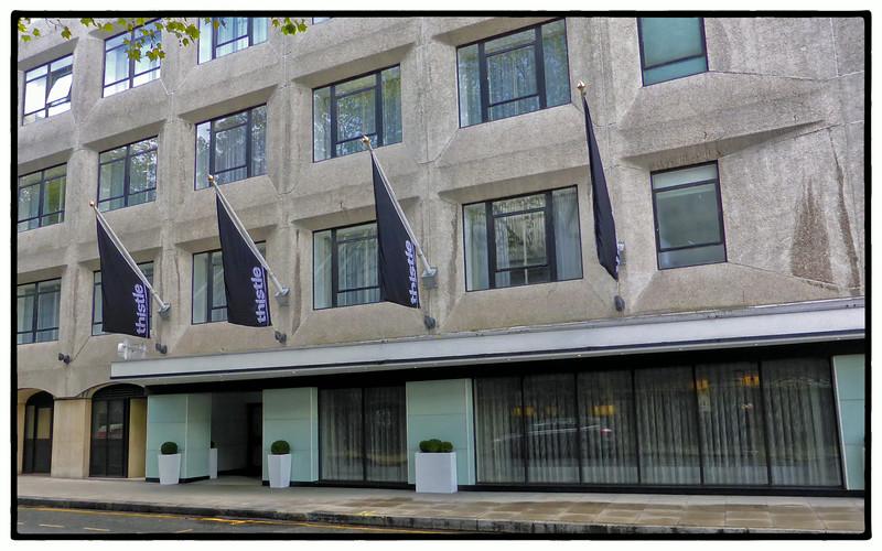 The Thistle Hotel, Cardington St, Euston, London, UK - 2013.