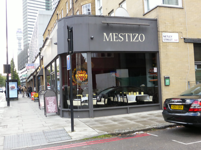 Mestizo, 103 Hampstead Road, London, UK - 2013.