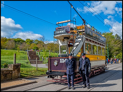 Beamish Museum, Beamish, County Durham, UK - 2019.