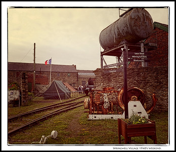 Springwell Village 1940's Weekend, Gateshead, Tyne & Wear, UK - 2019.