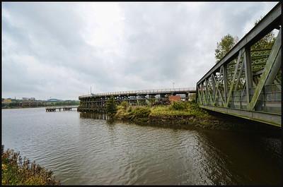 The  Staithes, Dunston, Gateshead, Tyne & Wear, UK - 2014.