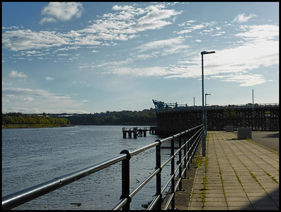 The Staithes, Dunston, Gateshead, Tyne & Wear, UK - 2018.