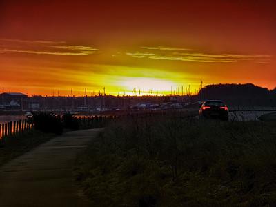 Warkworth, Northumberland, UK - 2014.
