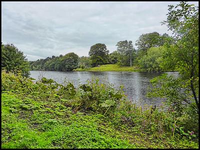 Tyne Green Country Park, Hexham, Northumberland, UK - 2015.