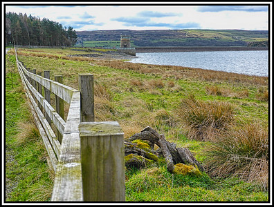 Derwent Reservoir, County Durham, UK - 2016.