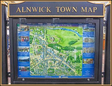 Alnwick, Northumberland, UK - 2017.