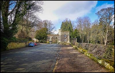 Alnwick, Northumberland, UK - 2018.
