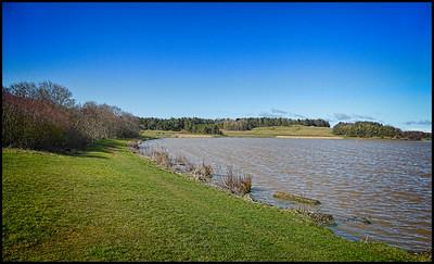 Druridge Bay Country Park, Northumberland, UK - 2018.