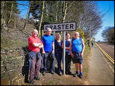 Craster To Embleton Bay Walk, Northumberland, UK - 2018.