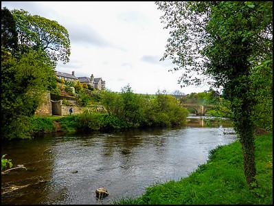 Rothbury, Northumberland, UK - 2018.