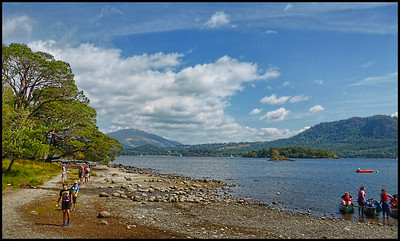 """The Lake District"" - Keswick, Cumbria, UK - 2018."