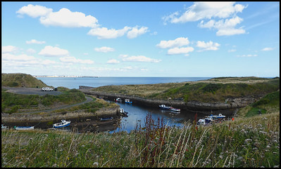 Seaton Sluice To Holywell Dene, Northumberland, UK - 2018.