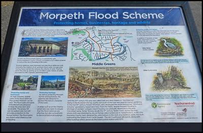 Morpeth, Northumberland, UK - 2018.